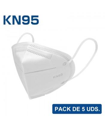 Mascarilla KN95 – Pack de 5...