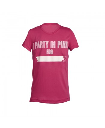 Party In Pink Unisex Tee
