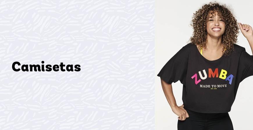 Tops deportivos, blusas y camisetas | Camisetas de Zumba | Tienda de Zumba Wear Canarias