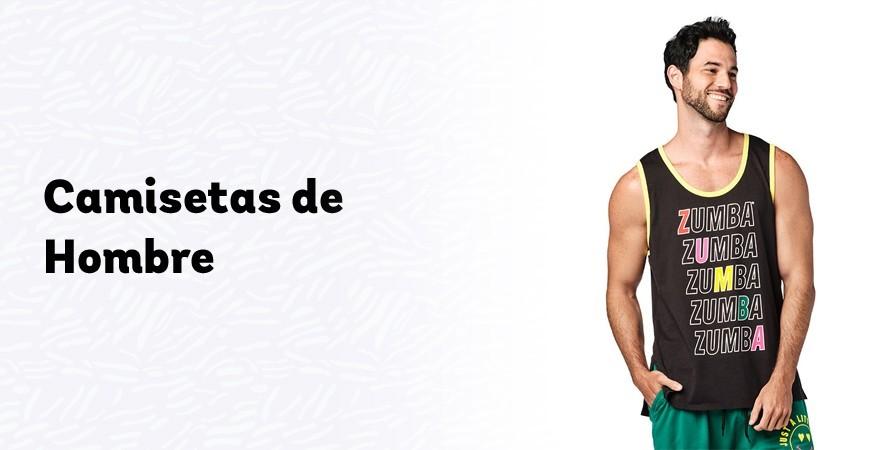 Camisetas de entrenamiento para hombre | Camisetas de Zumba | Tienda de Zumba Wear Canarias